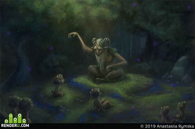 мистика, миф, мифическоесущество, мифическое существо, мифы, легенда, магия, Концепт-арт, Концепт Арт, арт