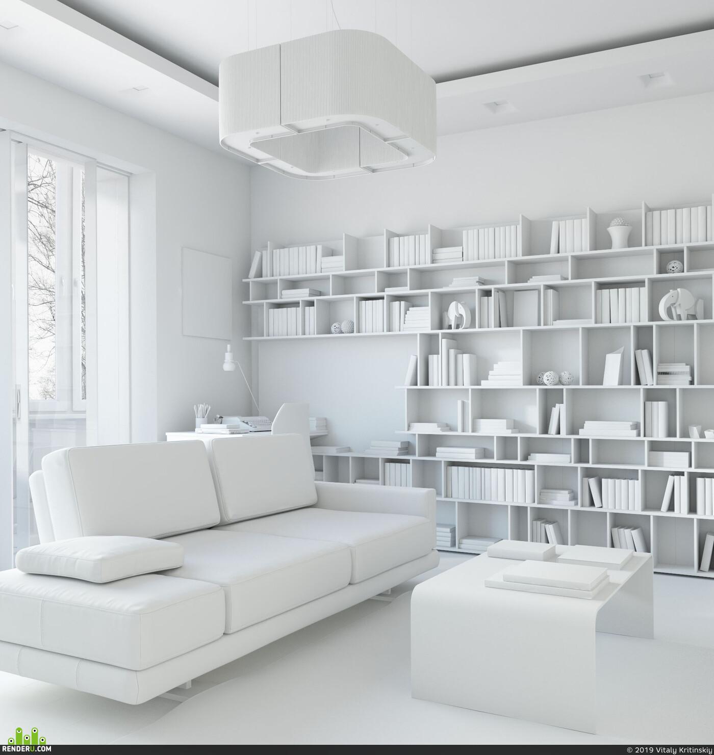 3ds Max, интерьер, архитектурная визуализация, архивиз