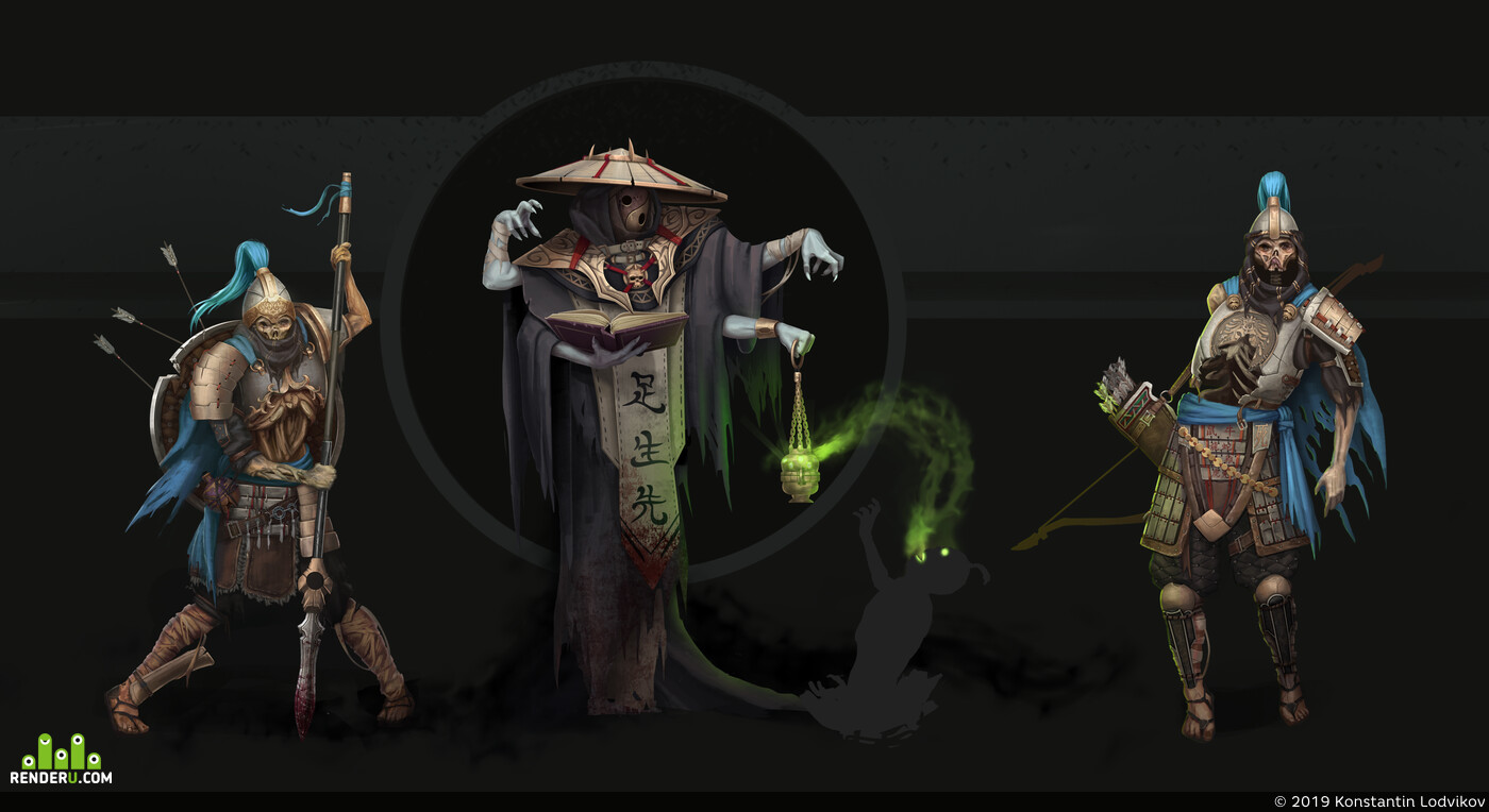 chinese undead concept