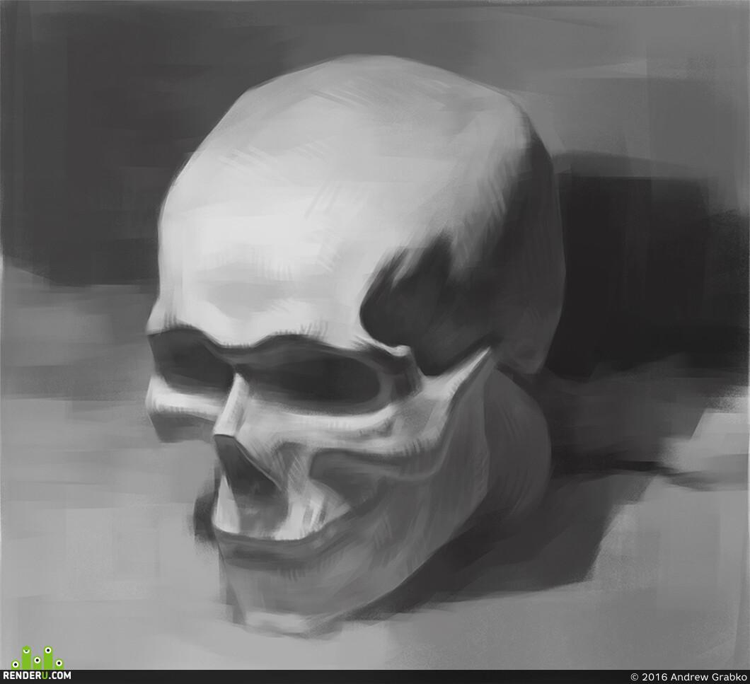цифровая живопись, рисование с натуры, курсы