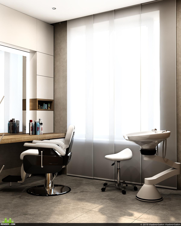 интерьер, дизайн интерьера, дизайнинтерьера, Интерьерная визуализация, 3д визуализация интерьера, визуализация интерьеров, спа салон, процедурный кабинет, 3д визуализация, Визуализация