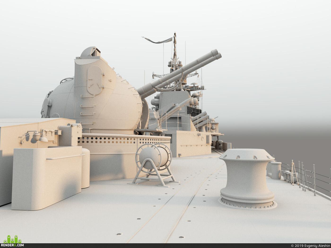 морская артиллерия, ак -130, эсминец пр 956, а-218, Пушка, орудие, море, выстрел, военный корабль