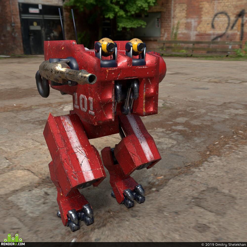 робот, hard surface