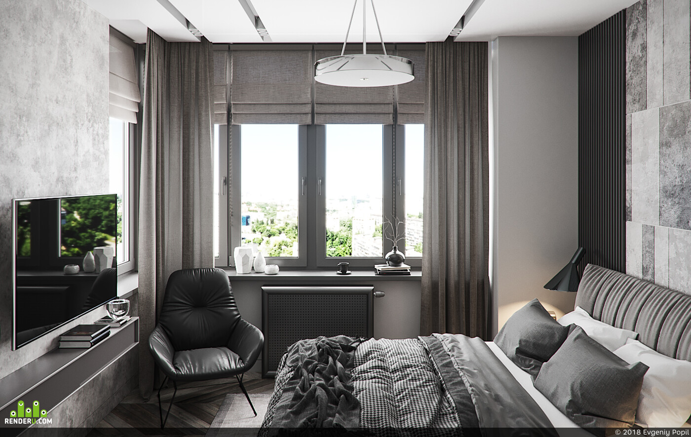 кухня, гостиная, гардеробная, Спальня, санузел