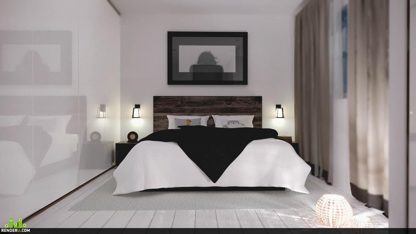 Realsoft 3D, RenderMan, Corona Renderer, rendering, interior, interior design, designer