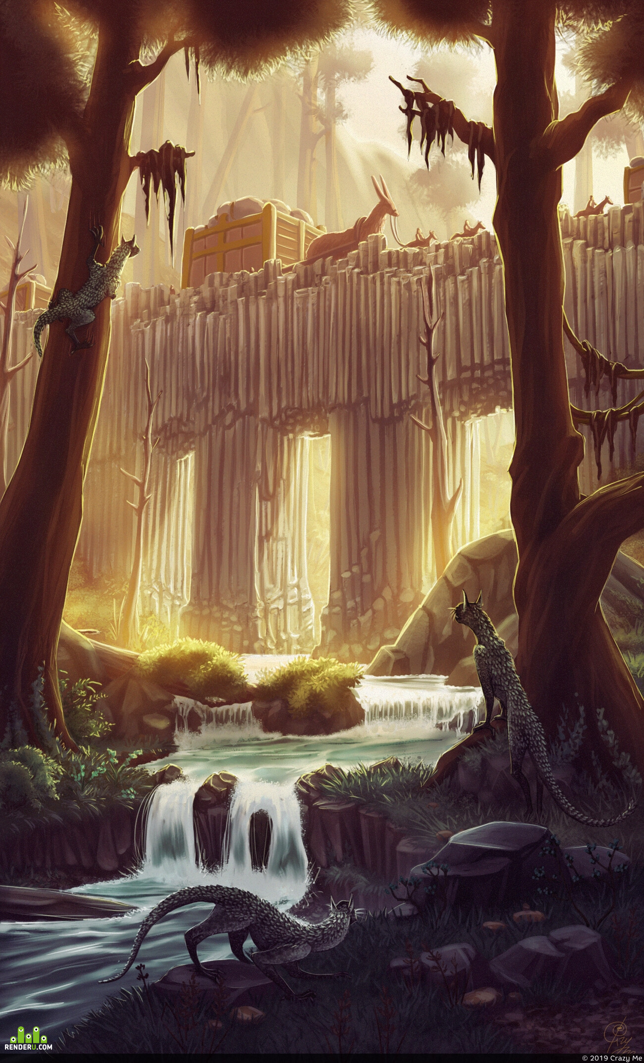 forest, Environments