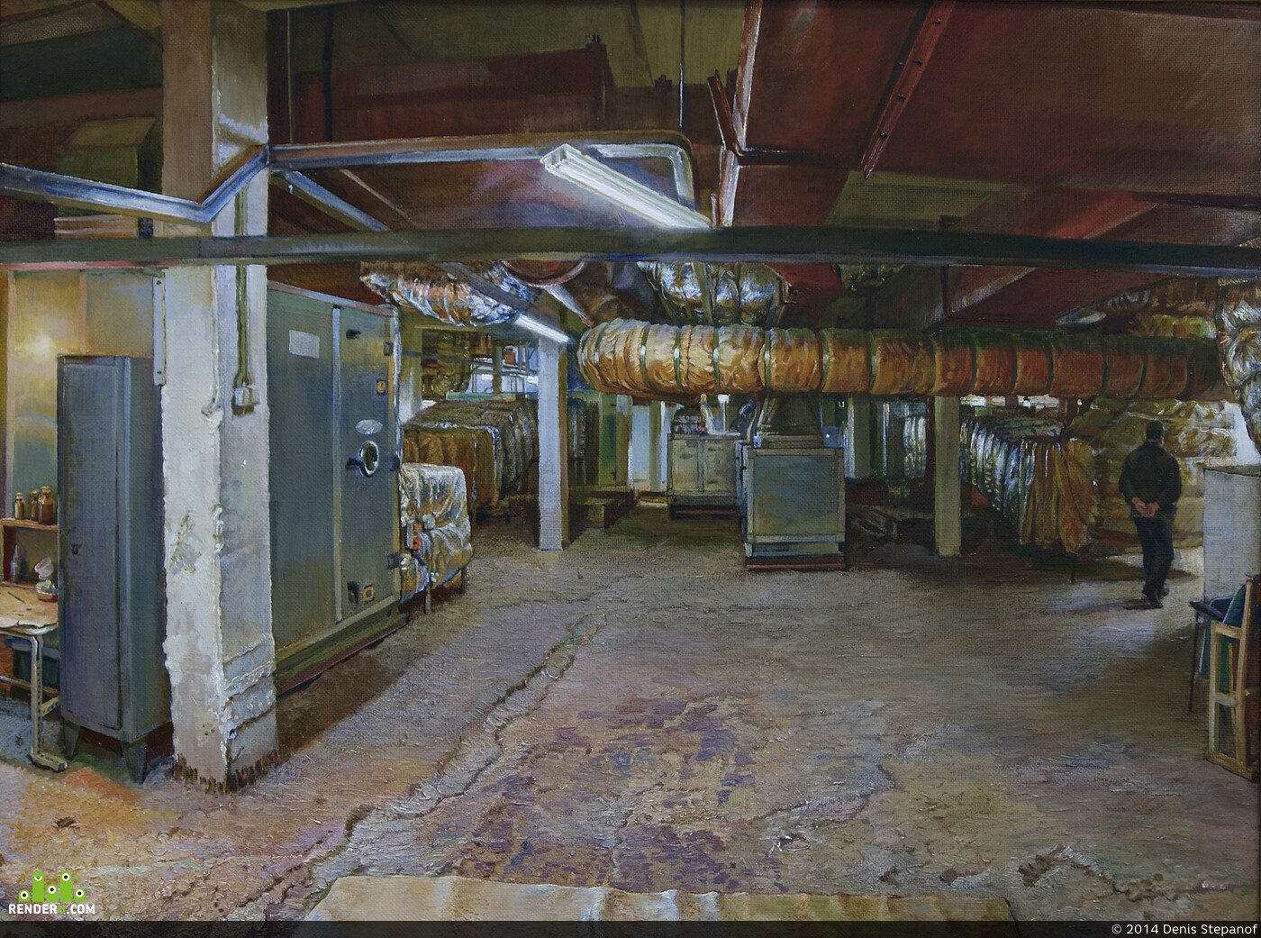 industrial painting