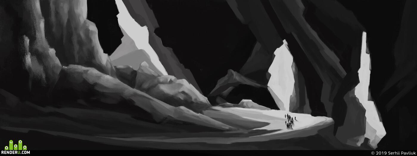 караван, пустыня