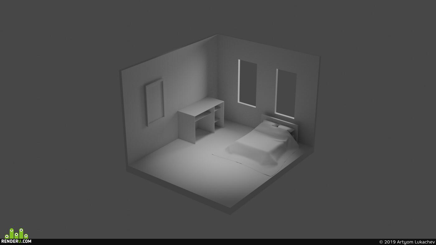 комната, room