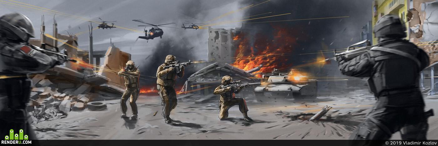art, projectgammafpc, gameart, soldier