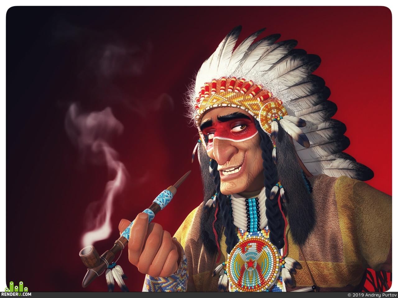 Geronimo, Indian Spirit, AndySpb