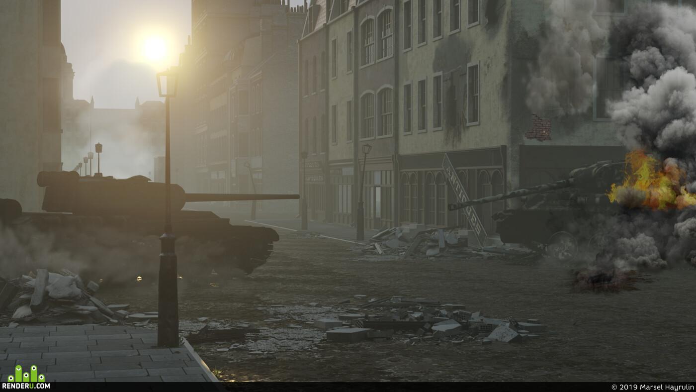 tank, t44, War