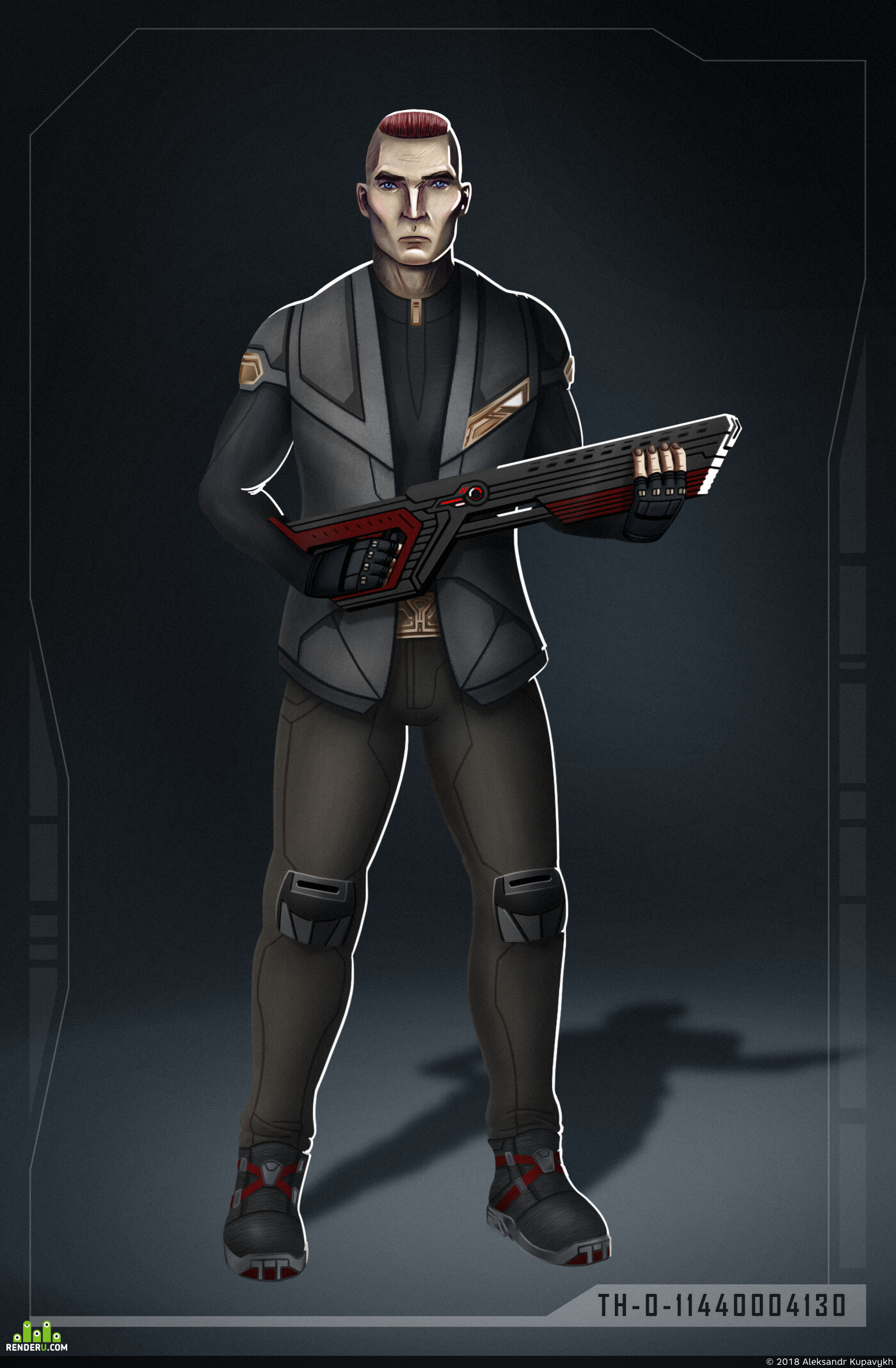 2D, 2dart, Концепт-арт, Концепт Арт, концепт персонажа, киберпанк, sci-fi, concept-art, Character