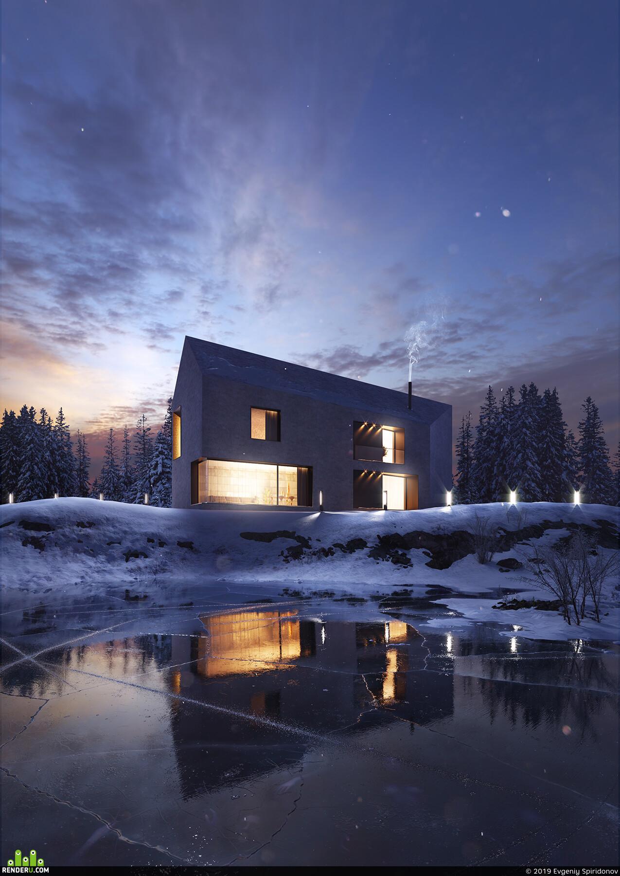 archviz, Exterior architecture, architectural render, arhiarchitecture