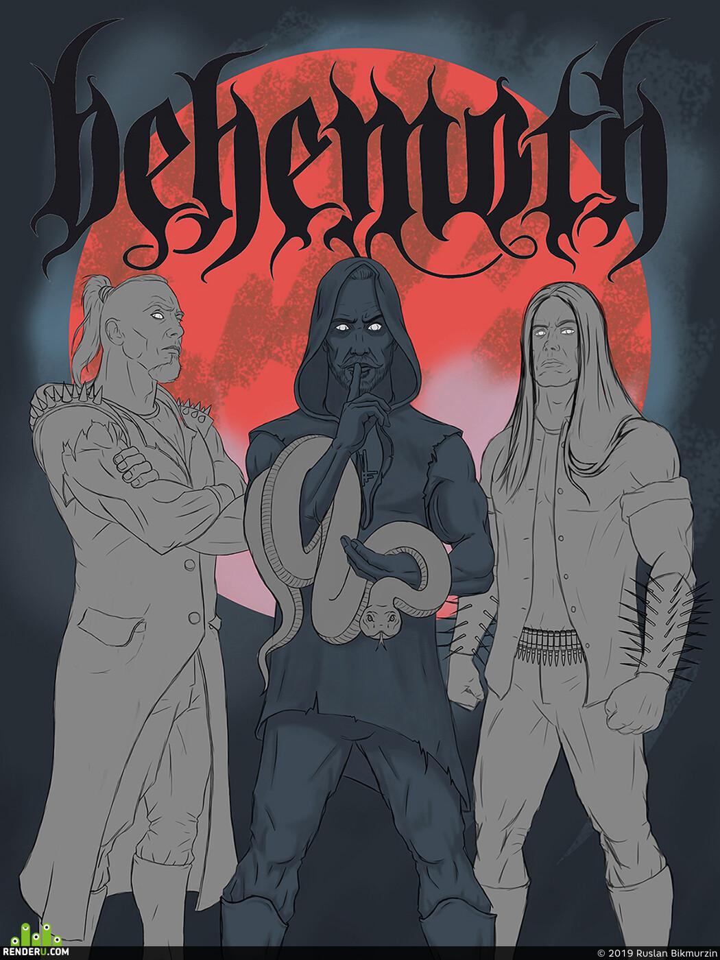иллюсрация, персонаж, Тёмное фэнтези, иллюстрация, фентази, постер