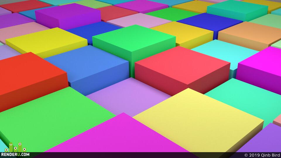 Cube, rendering3d, Office bilding rendering, (studio) (visualization) (rendering) (Cinema 4d) (3d modeling) (PBR texturing) (UV mapping)(Amazon)