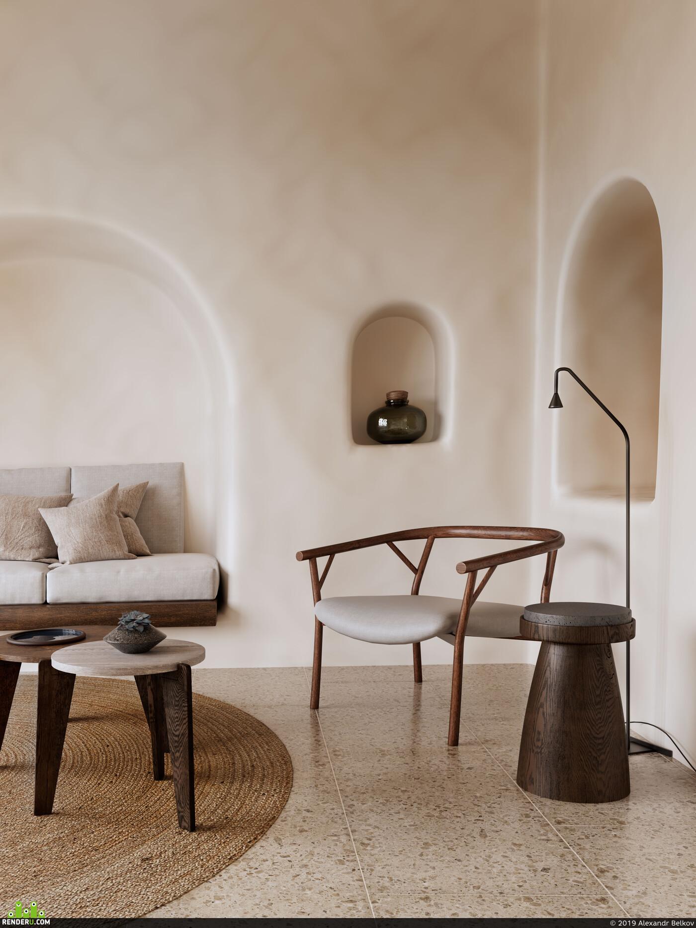 coronarenderer, interiors, 3Dsmax, design, Architecture