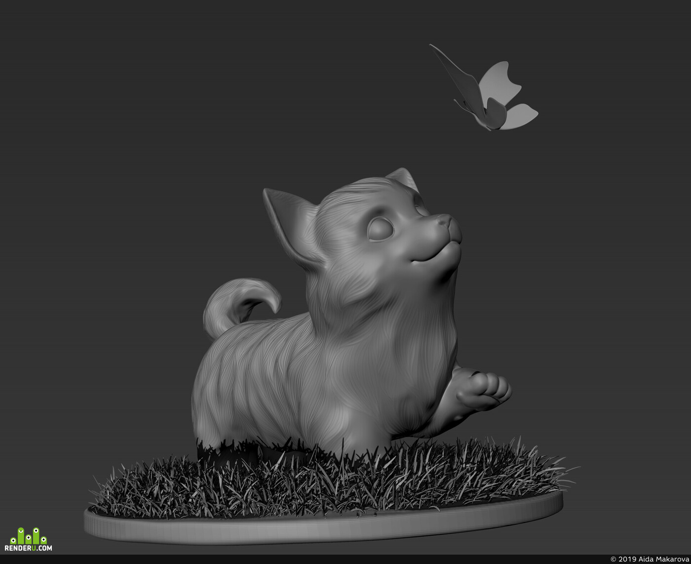 ZBrush, animal, creature, 3dartist, concept, 3dart, Photoshop, Character