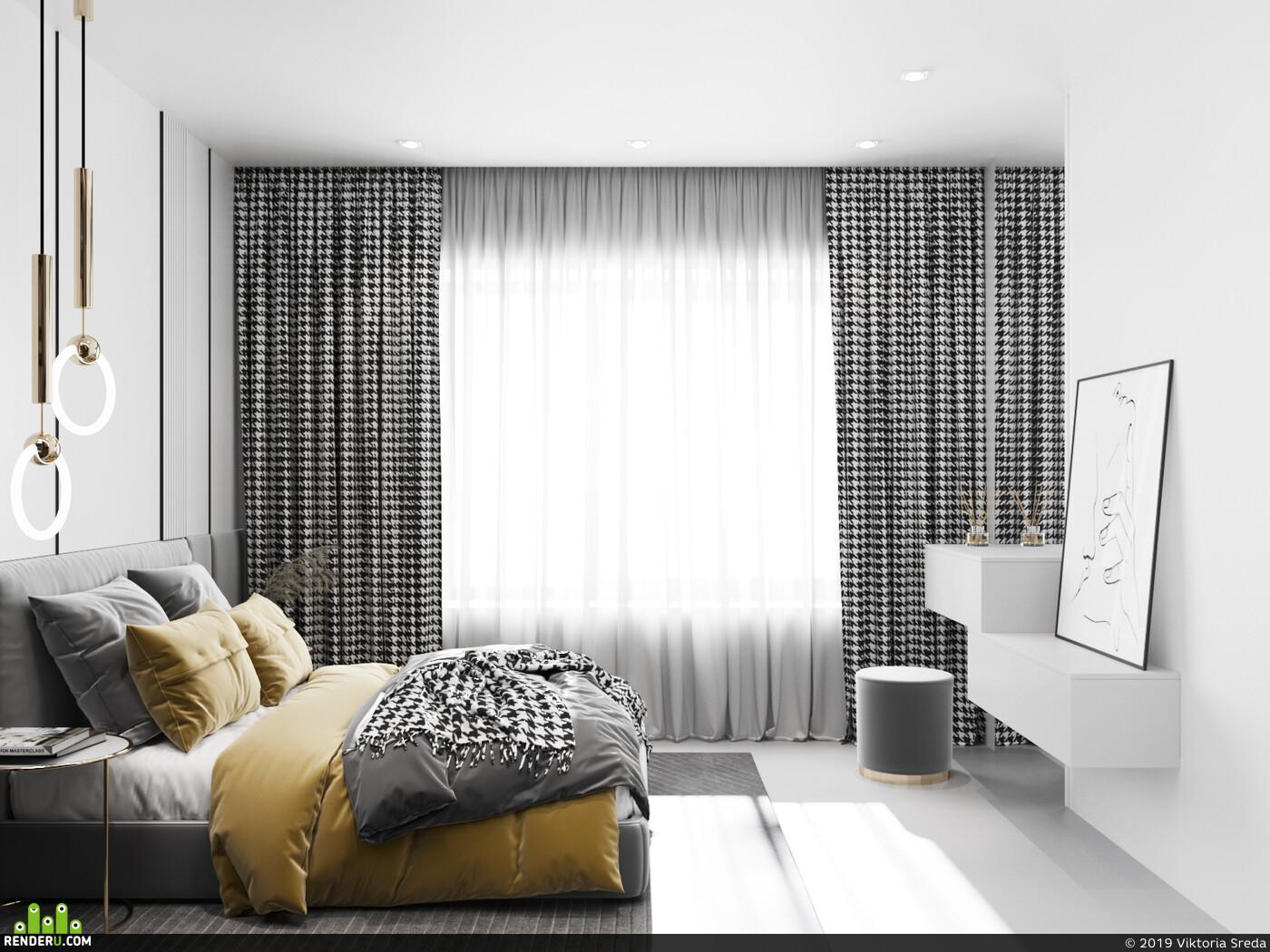 Corona Renderer, 3ds Max, Adobe Photoshop, интерьер, Визуализация