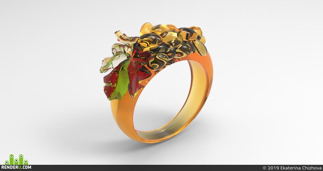 ring, jewerly, jewelry animation, jewelry modeling, jewelry 3d, glass, Fashion, minimalistic, minimalist, eco style