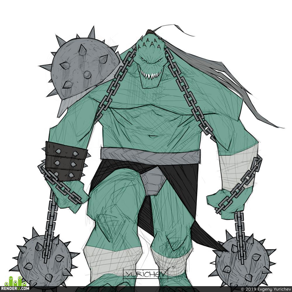 zhc, monster