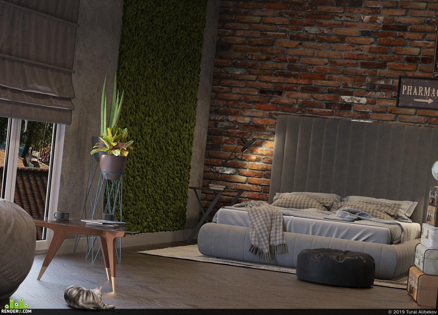 дизайн интерьера, interior interior design design 3D 3D Studio Max 3D архитектура интерьер дизайн интерьера интерьер, visualization