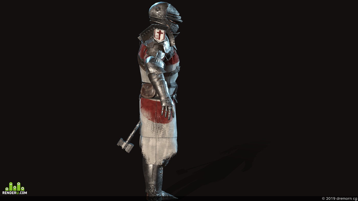 crusader, knight, human, head, People, medieval, Fantasy, fighter, Character, steel