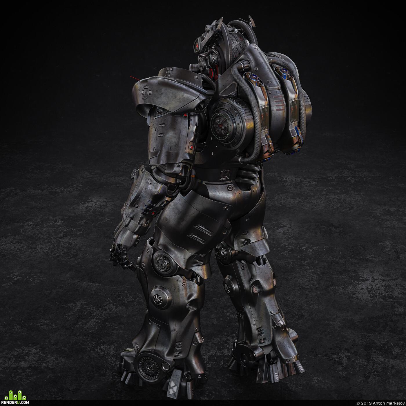 sci fi armor