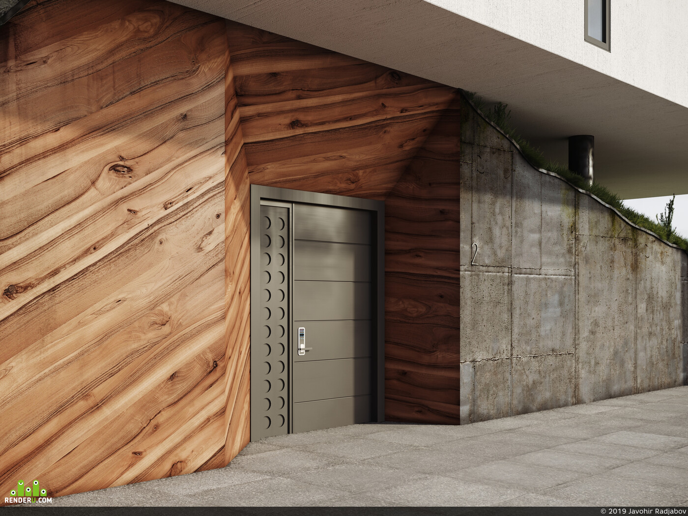 Architecture, corona render