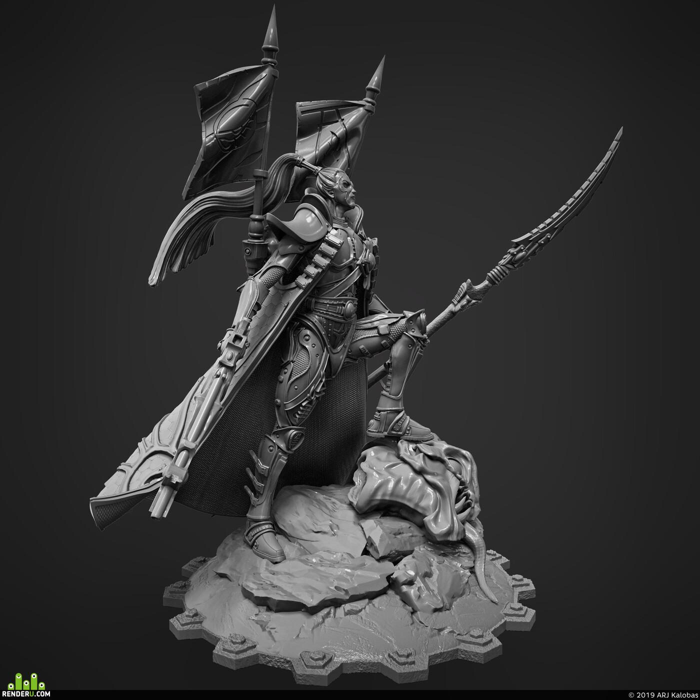 Warhammer 40k, warhammer40000, Warhammer, 3dprint, miniatures, princeyriel
