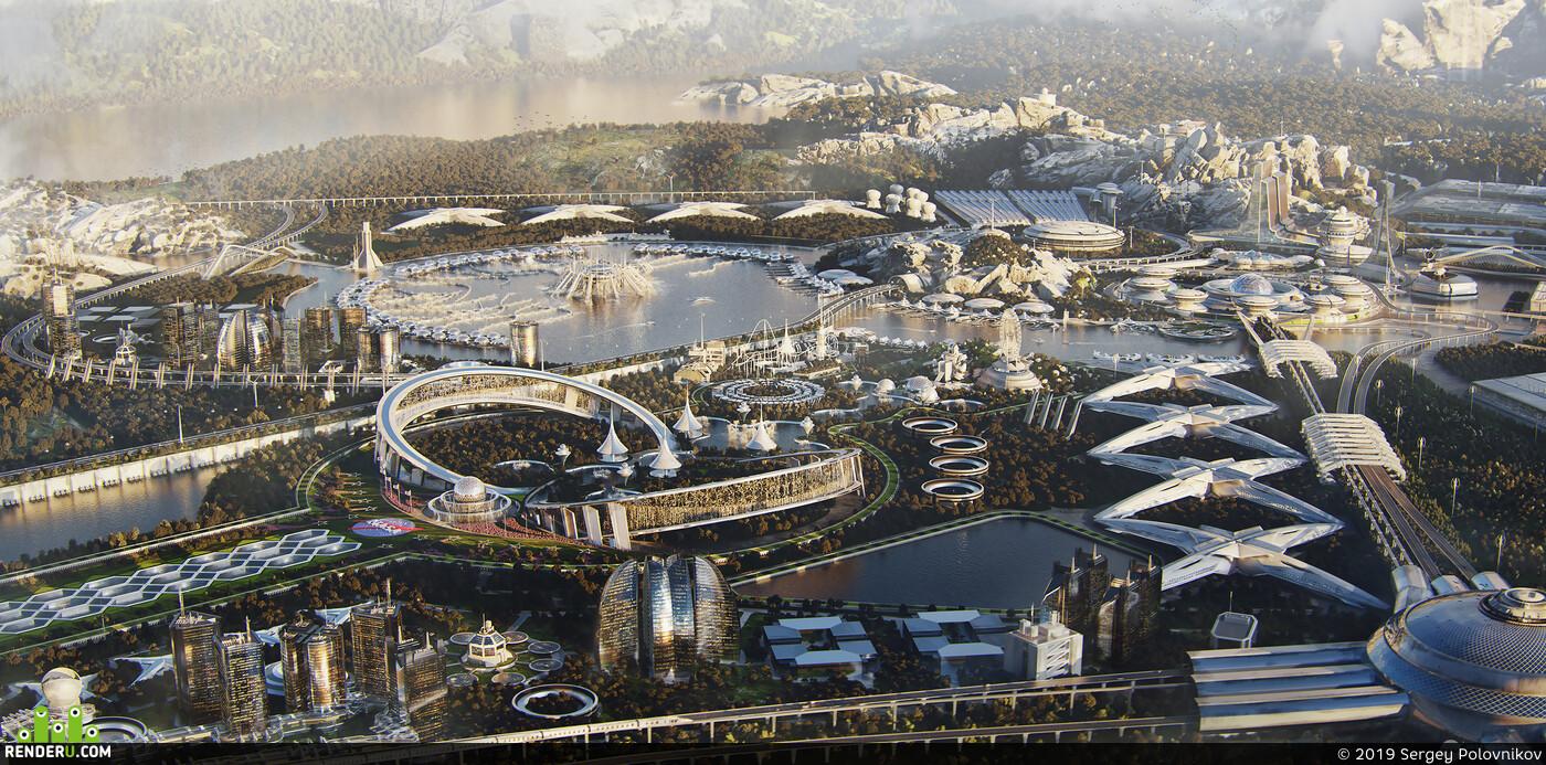 NASA science city concept