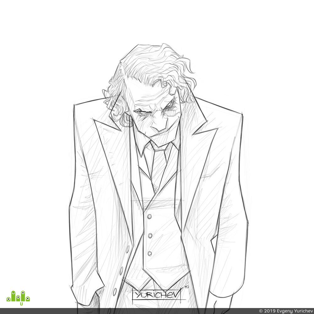 Joker, paint tool sai