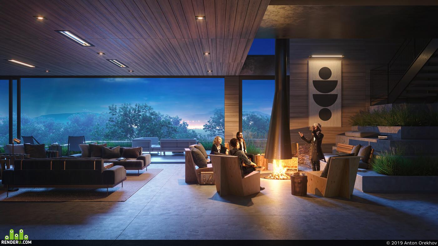 3d, 3ds Max, 3D Architecture, coronarenderer, corona, corona render