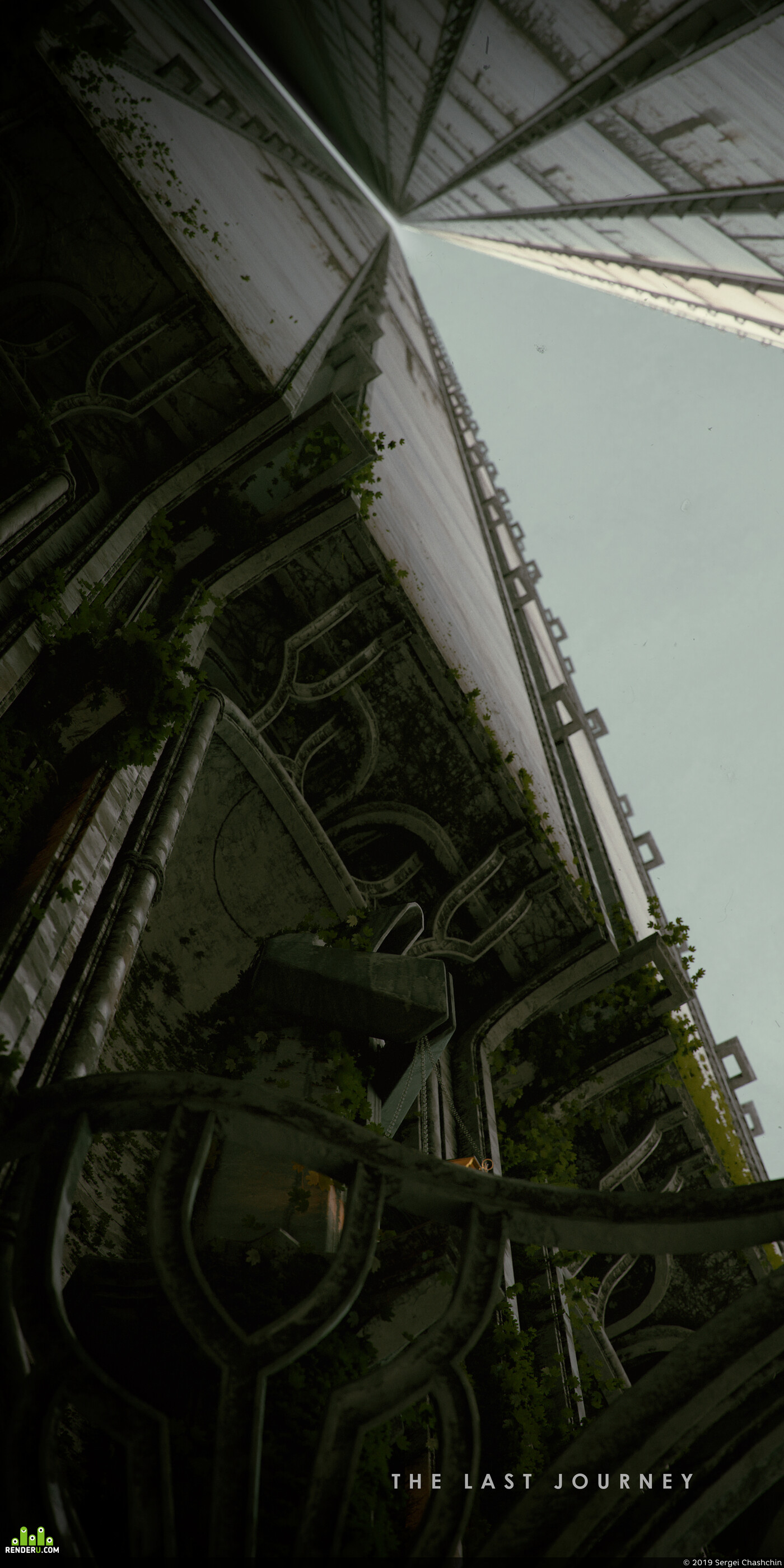 enviroment, 3d, Gothic, city, Wall