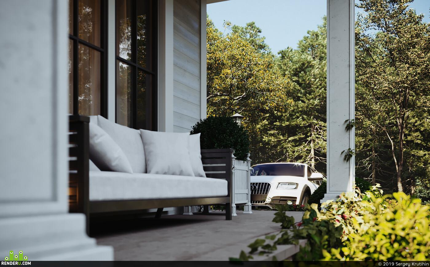 Exterior, 3d exterior, exterior visualisation