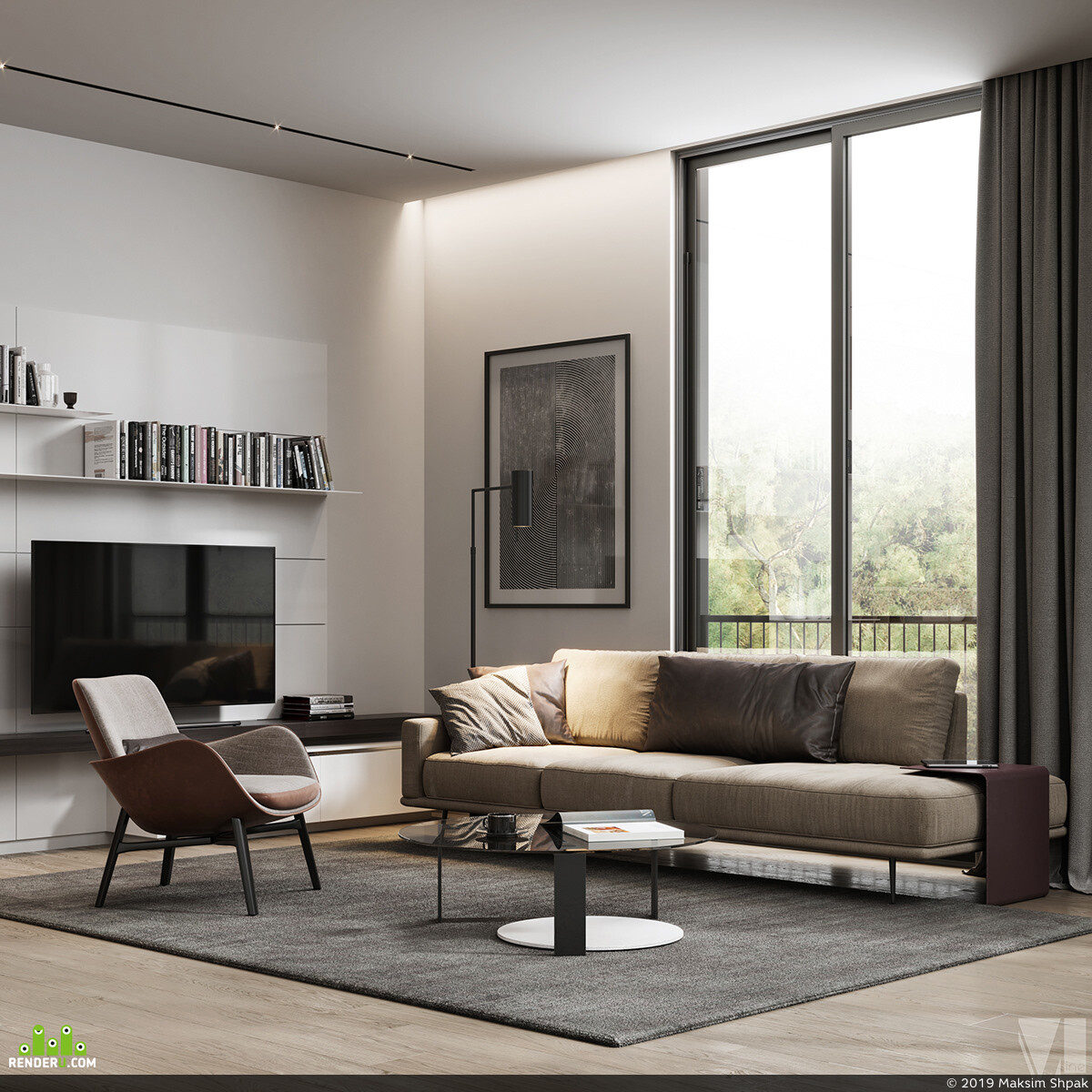 Cinema 4D, 3ds Max, interiordesign, vizualization, vizlinestidio, 3D Architecture