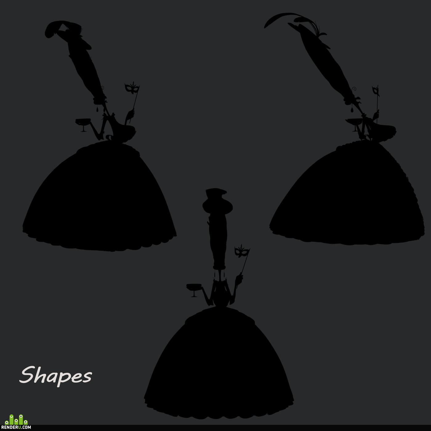 comicart, cartooncharacter, sculpting, design_character, 3d character
