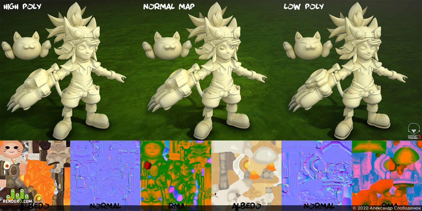 3d characher, stylization, Fantasy, game character