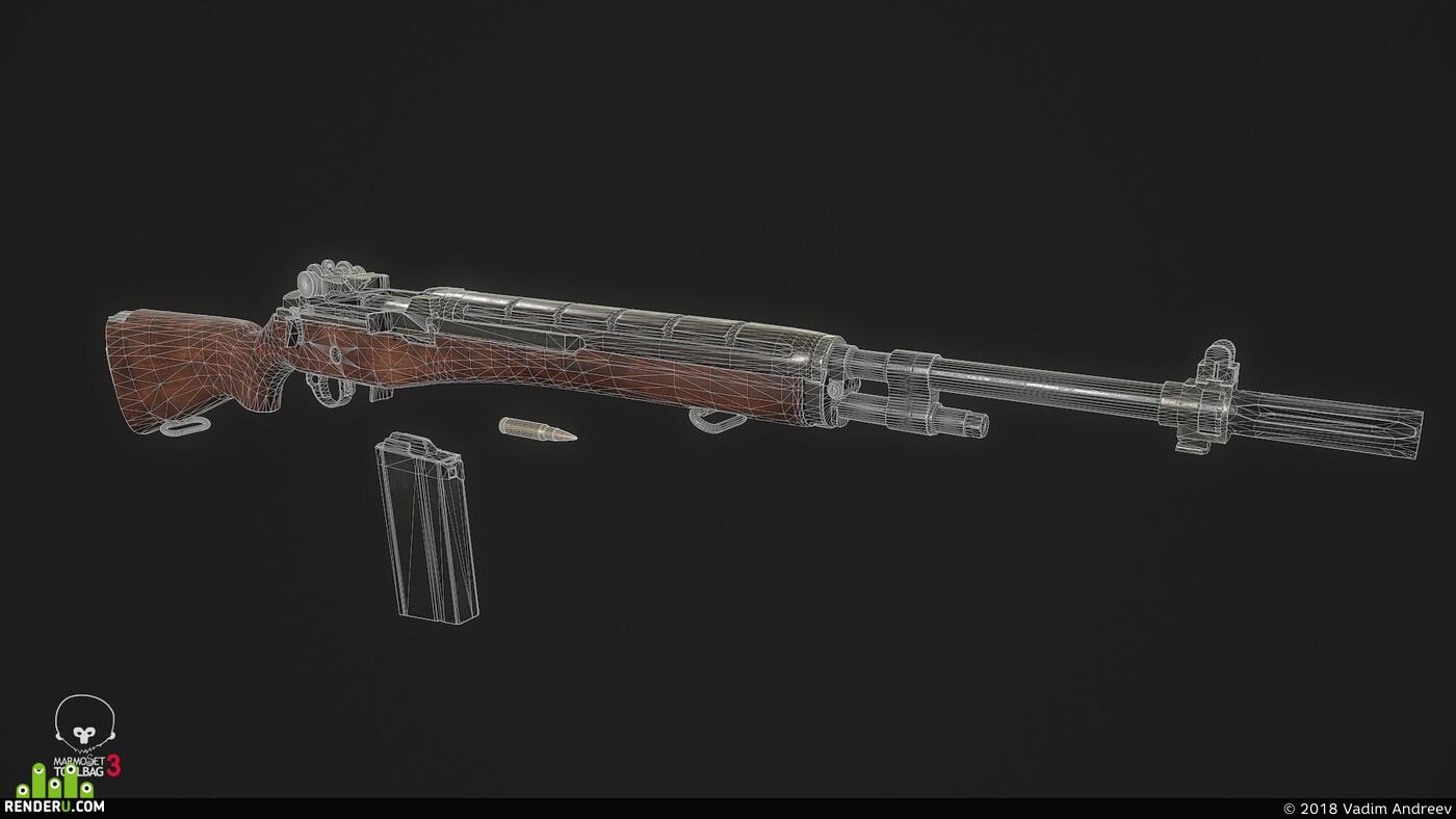 винтовка, оружие, сша, вьетнам