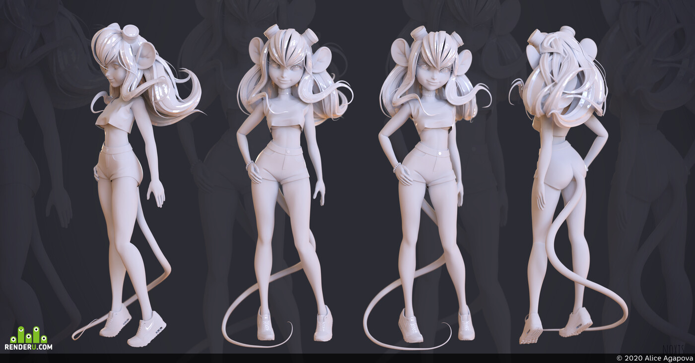 3d, Characters, characterart, game character, female character, characterdesign
