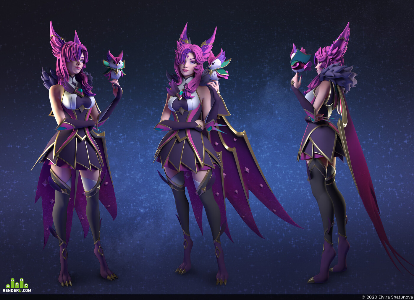 lol, league of legend, xayah, star guardian