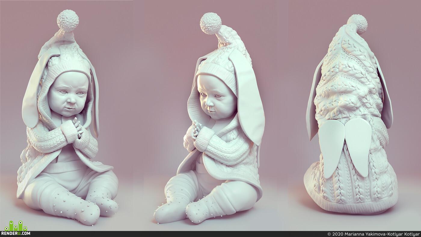 3D Printing, 3dmodel, sculpt, Ttraditional 3d, CG