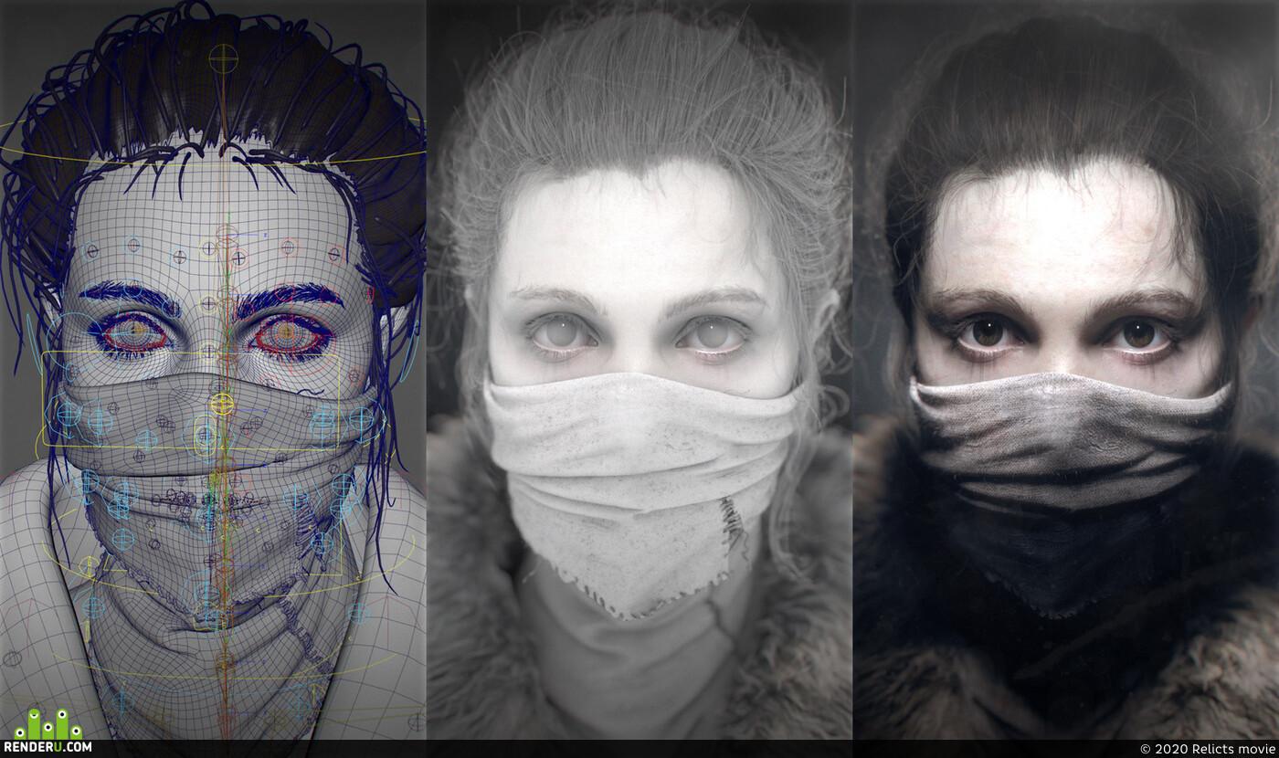 girl, 3dgirl, Characters, characterart, characterdesign, female character, female, beauty, beautiful girl