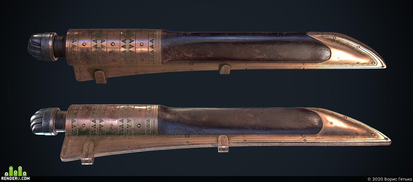 knife, weapons, Vikings