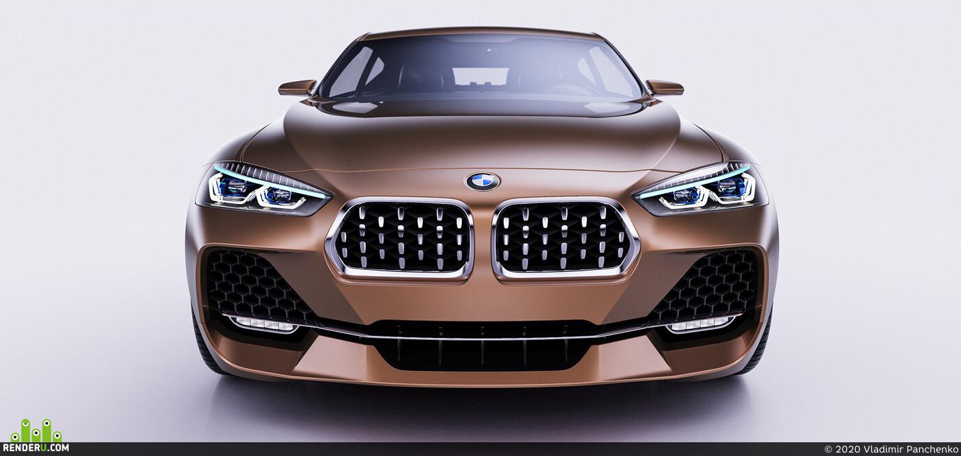 BMW, BMW DESIGN, car, cardesign, design, MPOWER, X2, BMW X2, concept car, automotive