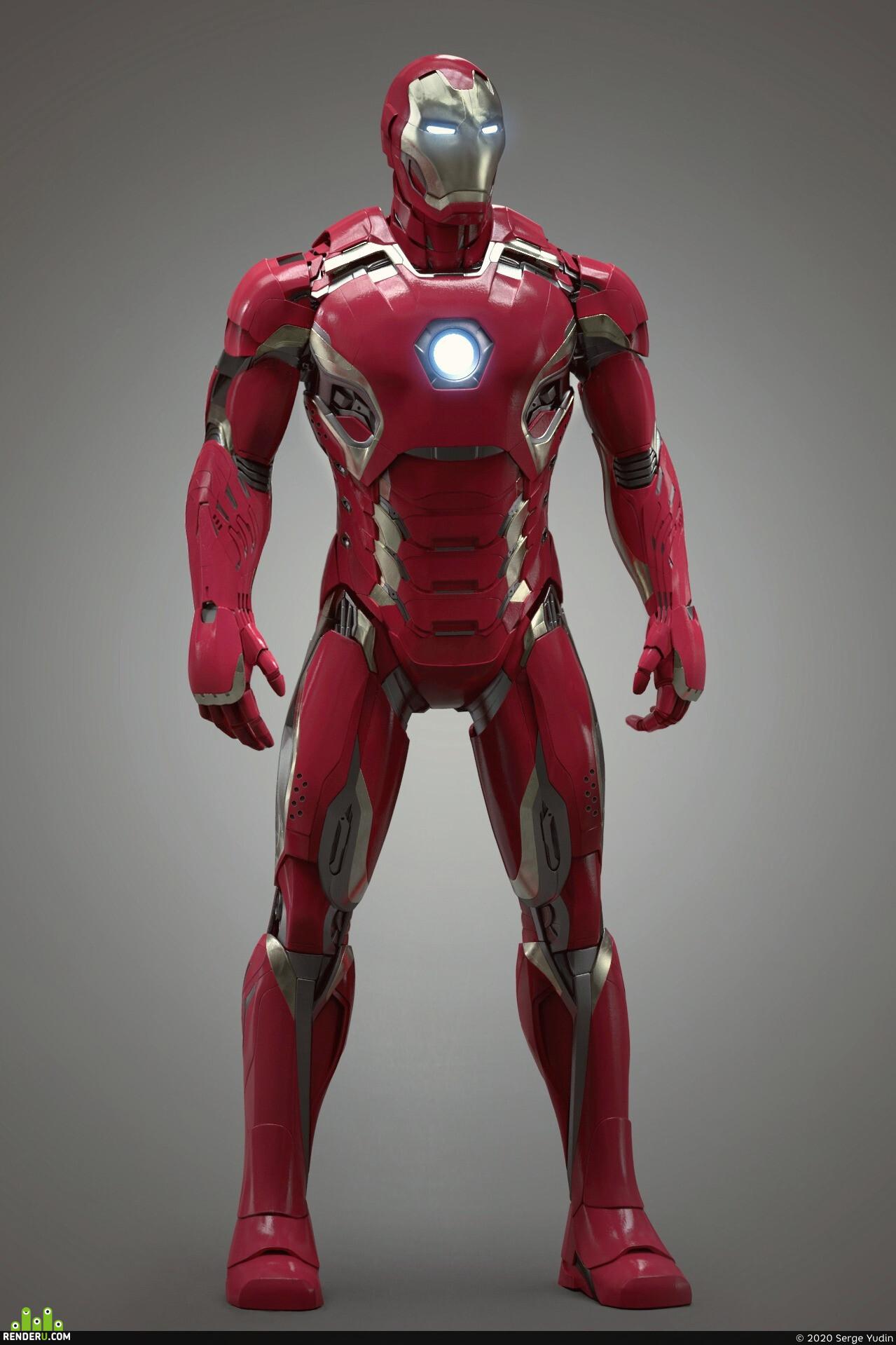 iron man, tony stark, Character, Marvel