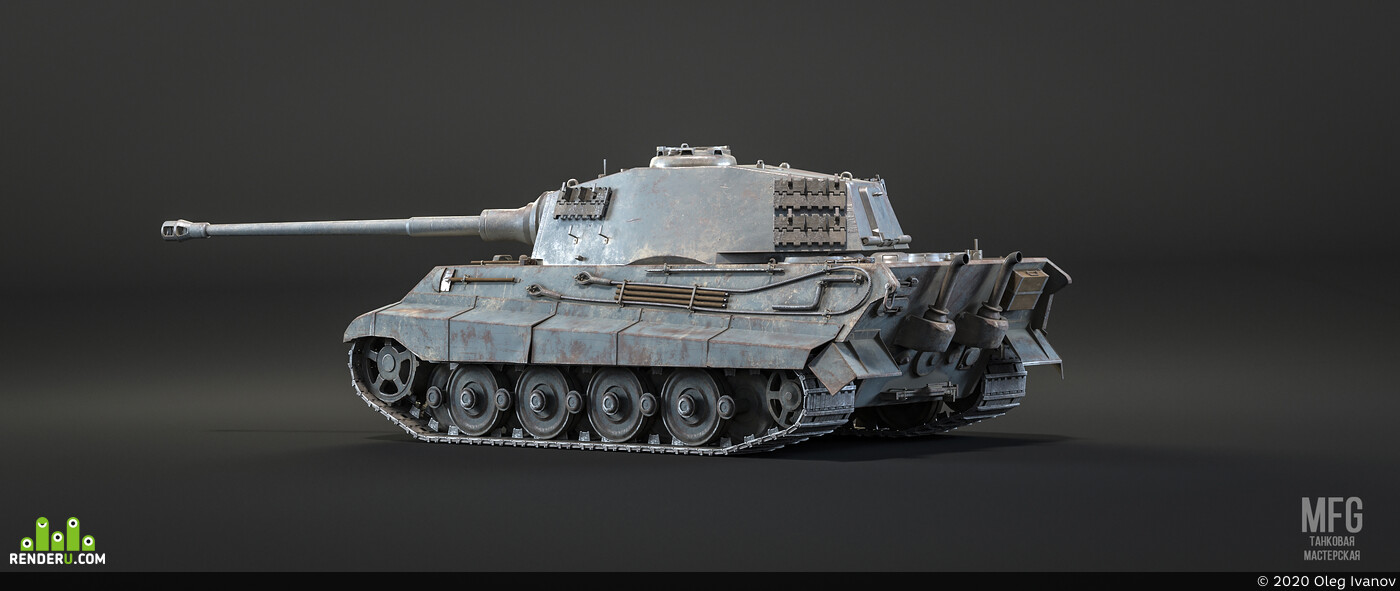 Tanks, substance, Blender, MarmosetToolbag, unity3d, Unreal Engine 4
