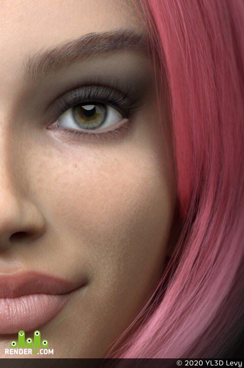 Digital 3D, Textures & Materials, character design, Character Modeling, DigitalModel, virtual influencer, virtual model, digitalart, EllaStoller