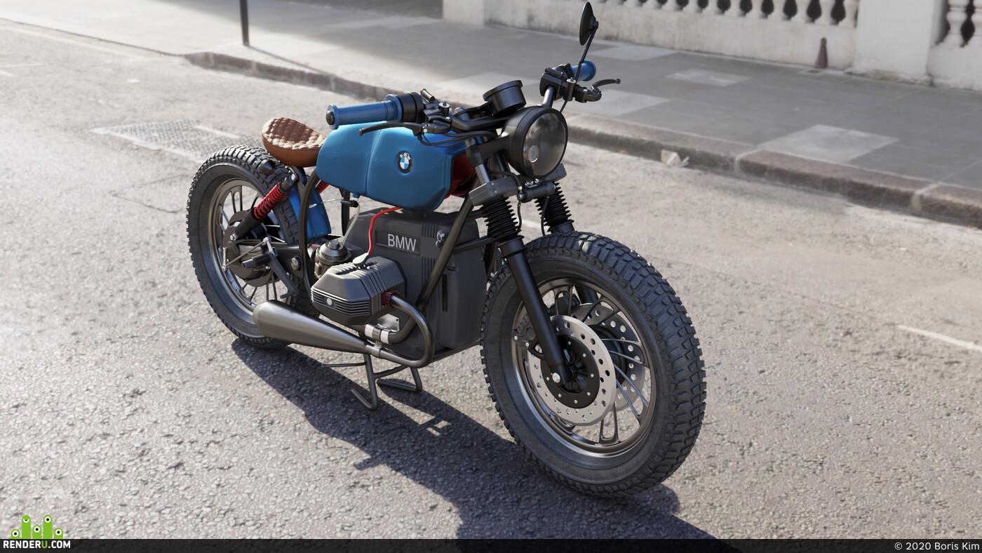 Car / motorcycle, Vehicles, BMW DESIGN