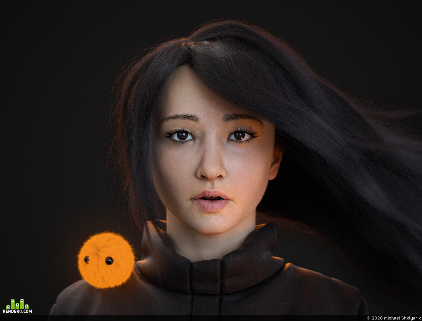 Character, 3d, realism